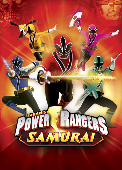 Power Rangers Samurai on Netflix UK