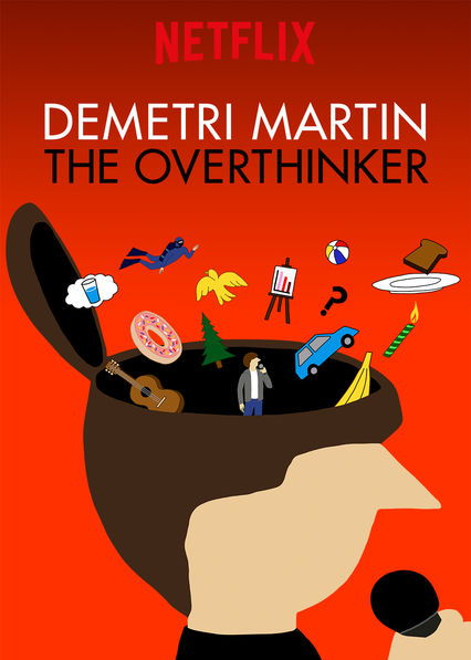 Demetri Martin: The Overthinker on Netflix UK