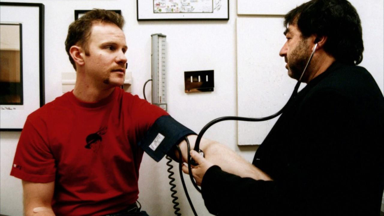 """supersize me morgan spurlock 13 years after he spent a month eating nothing but mcdonald's, """"super-size me"""" director (and human guinea pig) morgan spurlock has opened a fast-food restaurant of his own of course, anyone who's seen spurlock's breakthrough 2004 documentary knows that he's not just in it for the money."""