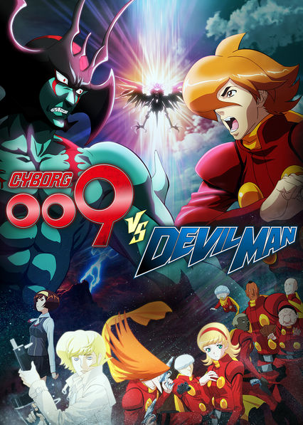 Cyborg 009 VS Devilman on Netflix UK