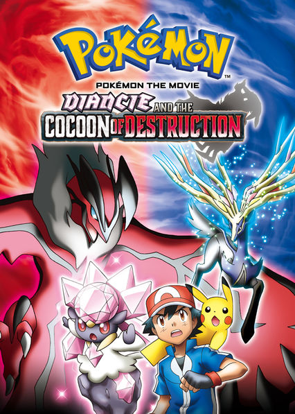 Pok�mon the Movie: Diancie and the Cocoon of Destruction on Netflix UK