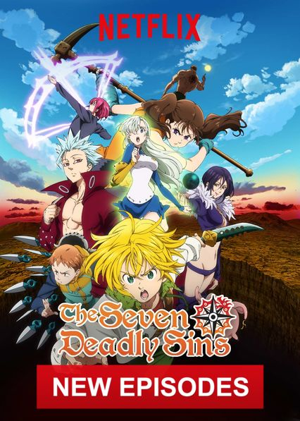 The Seven Deadly Sins on Netflix UK