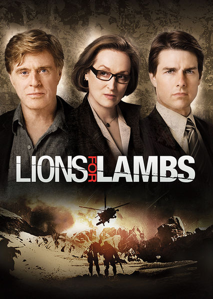 Lions for Lambs on Netflix UK