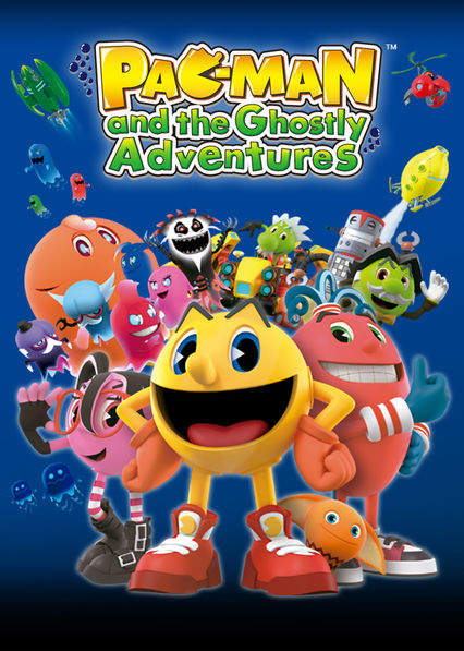 Pac-Man and the Ghostly Adventures on Netflix UK