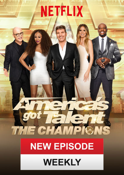 America's Got Talent: The Champions on Netflix UK