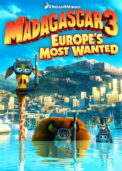 Madagascar 3: Europe's Most Wanted on Netflix UK
