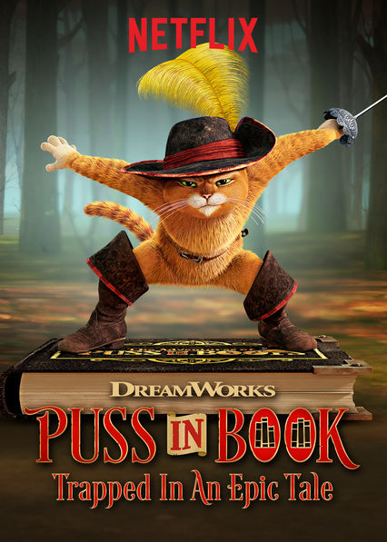 Puss in Book: Trapped in an Epic Tale on Netflix UK
