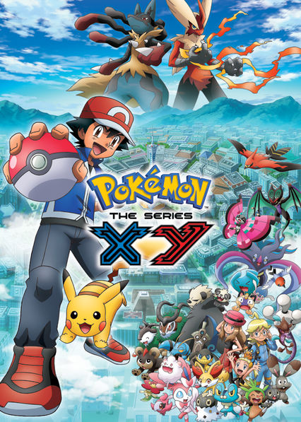 is pokémon xy 2015 available to watch on uk netflix