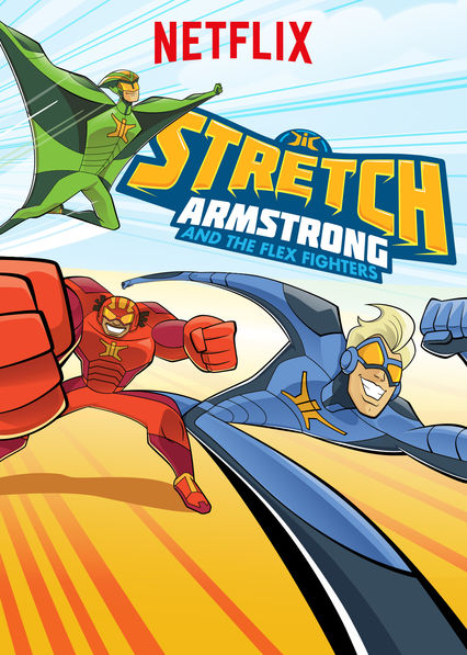 Stretch Armstrong & the Flex Fighters on Netflix UK