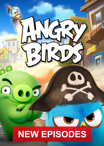 Angry Birds on Netflix UK