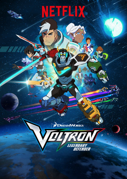 Voltron: Legendary Defender on Netflix UK
