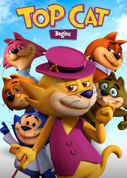 Top Cat Begins on Netflix UK