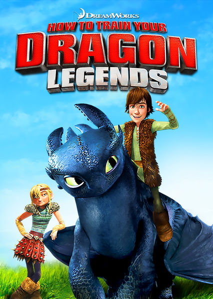 DreamWorks How to Train Your Dragon Legends on Netflix UK