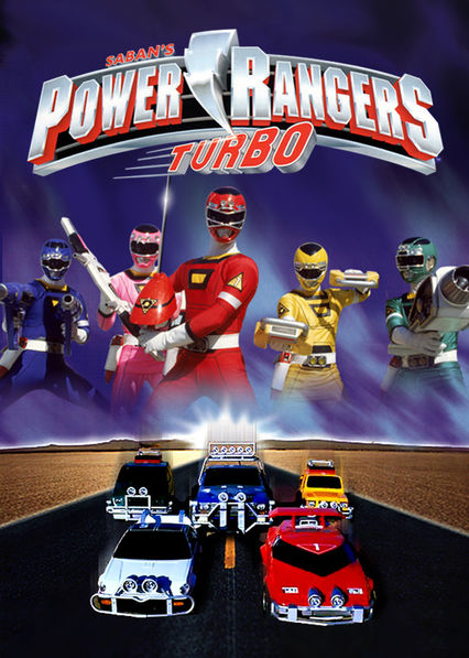 Power Rangers Turbo on Netflix UK