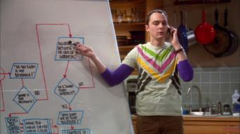 The Big Bang Theory: Season 2: The Friendship Algorithm