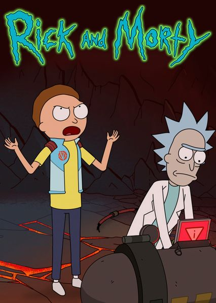 Rick and Morty on Netflix UK