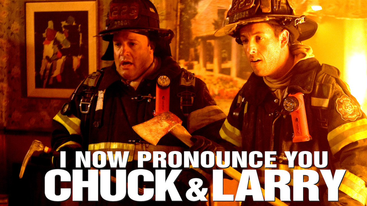 I Now Pronounce You Chuck and Larry on Netflix UK