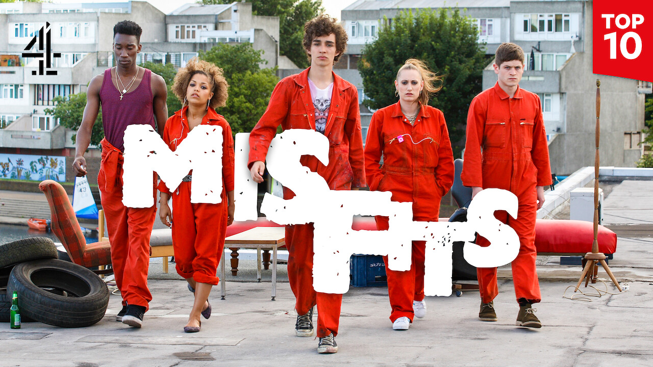 Misfits on Netflix UK