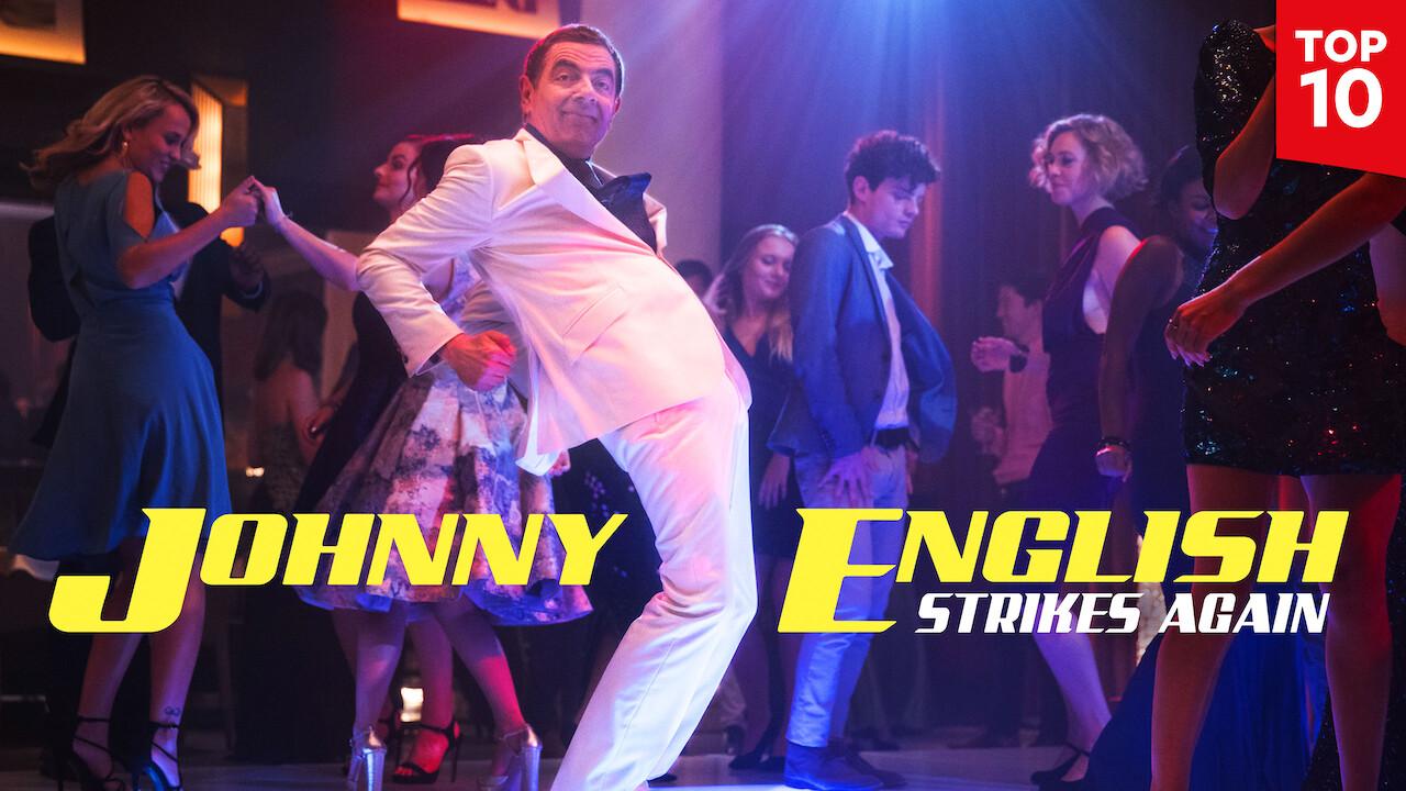 Johnny English Strikes Again on Netflix UK