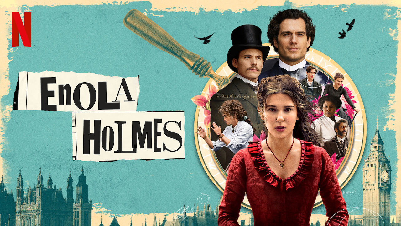 Enola Holmes on Netflix UK