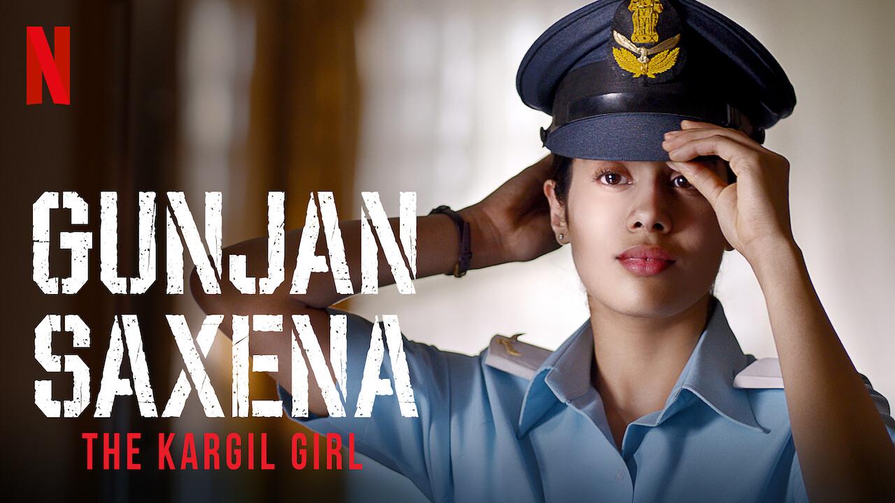 Gunjan Saxena: The Kargil Girl on Netflix UK