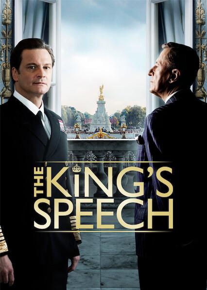 The King's Speech on Netflix UK