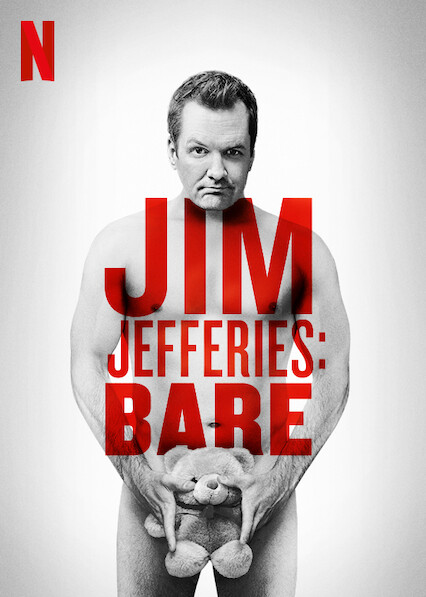 Jim Jefferies : BARE on Netflix UK