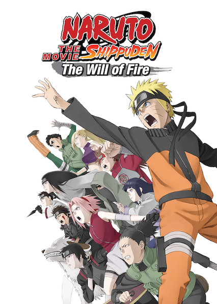 Naruto Shippûden the Movie: The Will of Fire on Netflix UK