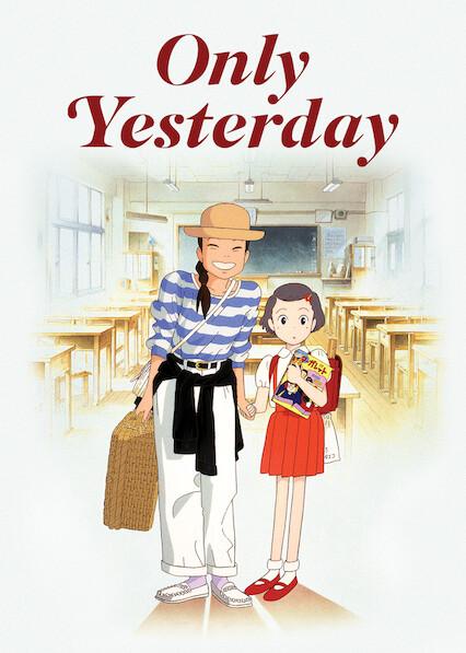 Only Yesterday on Netflix UK