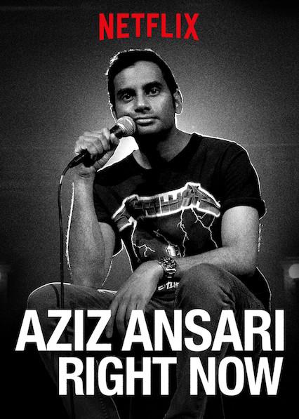 Aziz Ansari: RIGHT NOW on Netflix UK