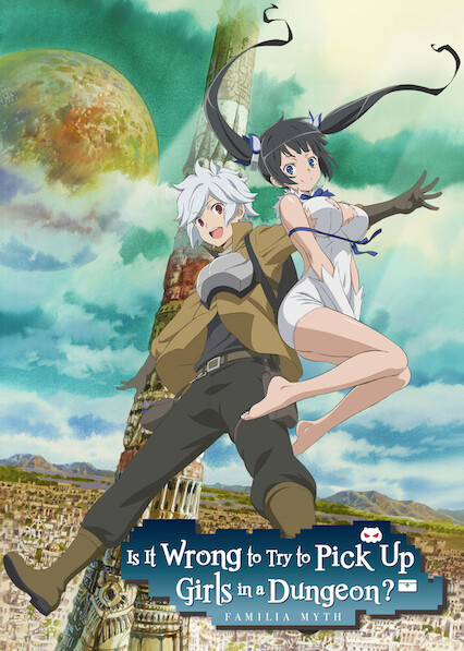 Is It Wrong to Try to Pick Up Girls in a Dungeon? on Netflix UK