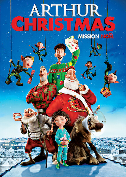 Arthur Christmas on Netflix UK
