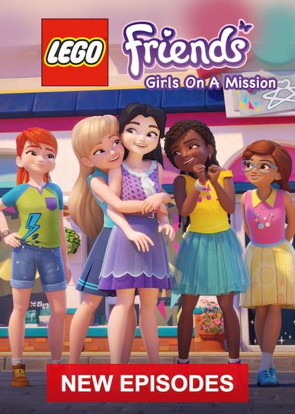 LEGO Friends: Girls on a Mission on Netflix UK