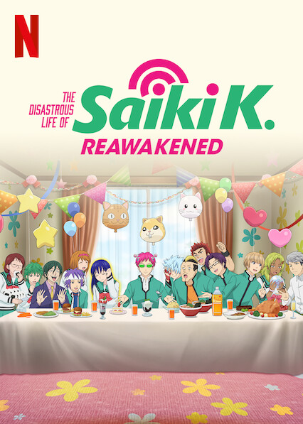 The Disastrous Life of Saiki K.: Reawakened on Netflix UK