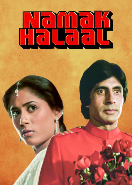 Poster of Namak Halaal 1982 Full Hindi Free Download Watch Online In HD Movie Download 480p HDRip