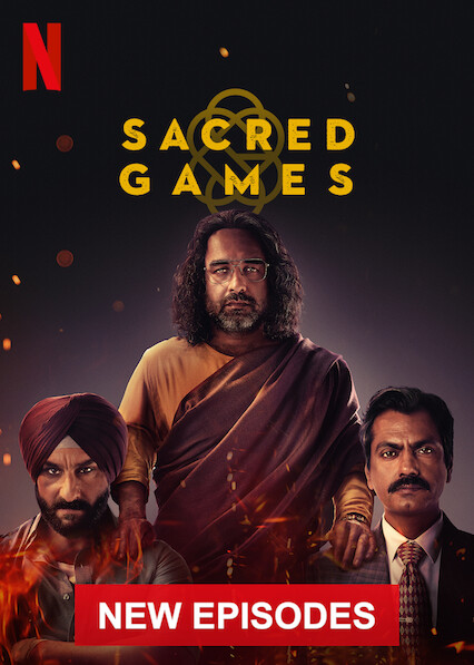 Sacred Games on Netflix UK