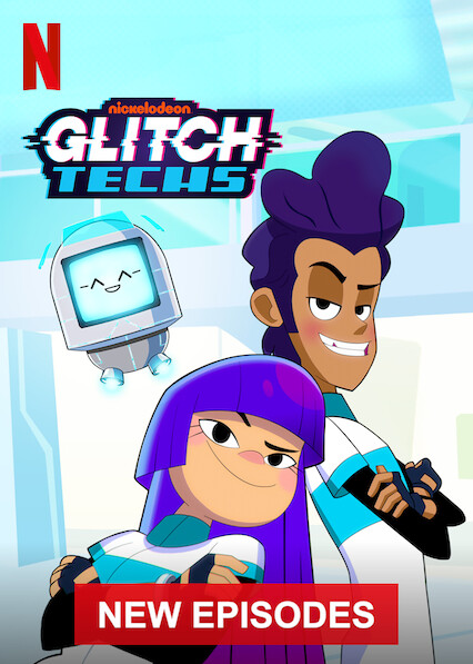 Glitch Techs sur Netflix UK