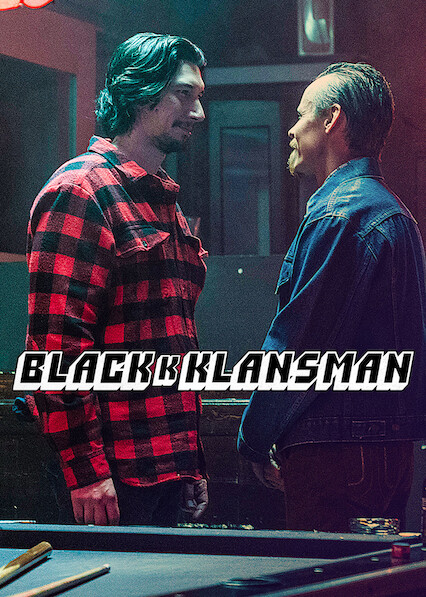 BlacKkKlansman sur Netflix UK