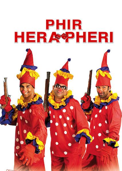 Phir Hera Pheri sur Netflix UK