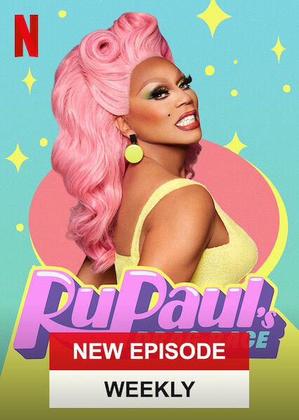 Course de dragsters de RuPaul sur Netflix UK