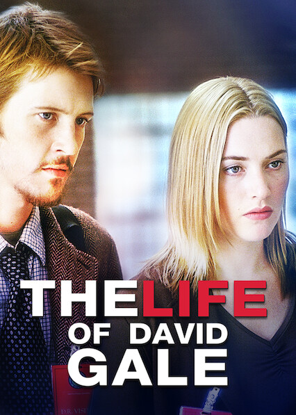 La vie de David Gale sur Netflix UK