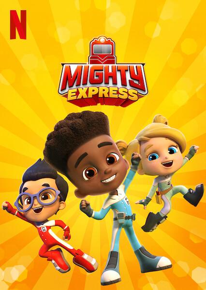 Mighty Express sur Netflix UK