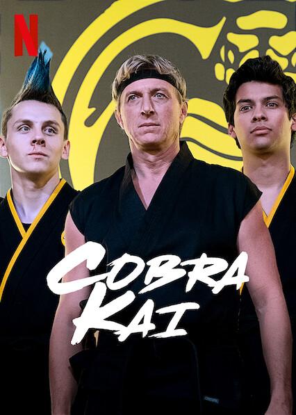 Cobra Kai sur Netflix UK
