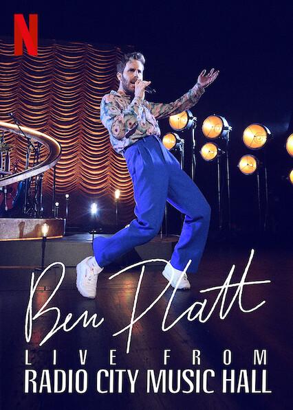 Ben Platt Live from Radio City Music Hall on Netflix UK