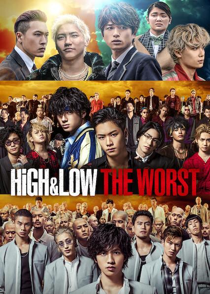 High & Low The Worst on Netflix UK