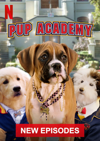 Pup Academy sur Netflix UK