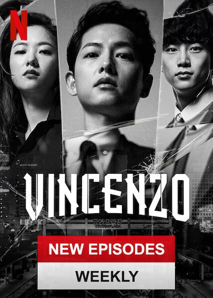 Vincenzo sur Netflix UK