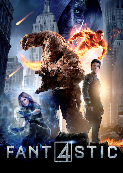 Fantastic Four on Netflix UK