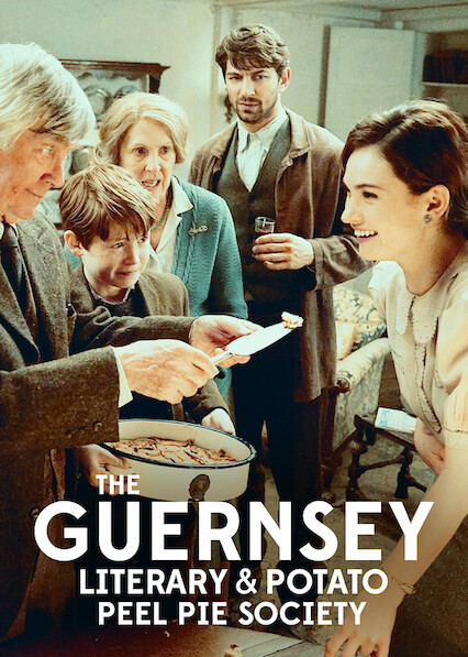 The Guernsey Literary and Potato Peel Pie Society sur Netflix UK