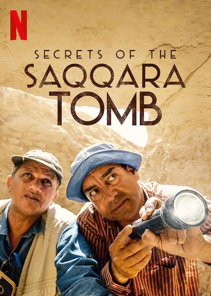 Secrets of the Saqqara Tomb sur Netflix UK
